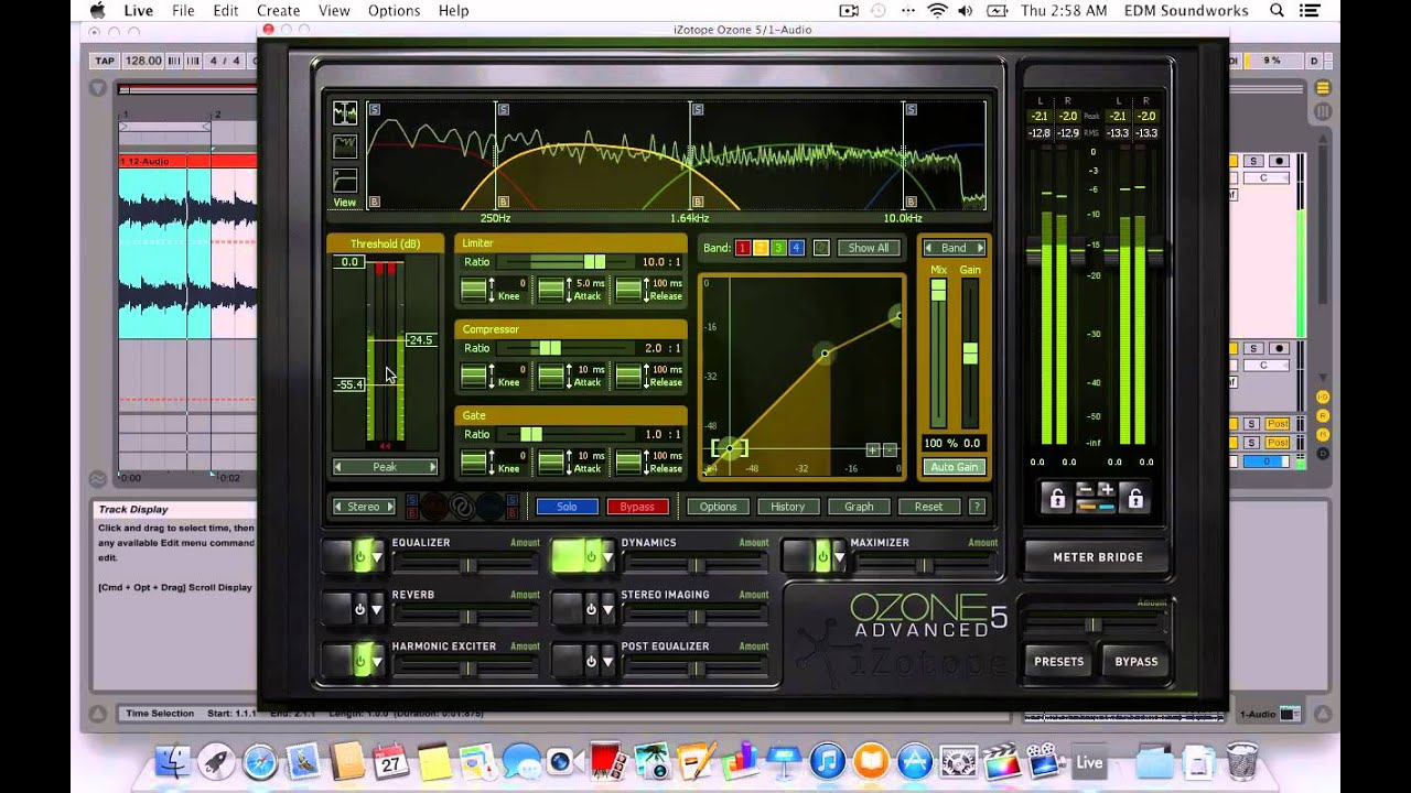 Tutorial - IZotope Ozone Mastering Secret - How to get your track as loud  as the PROs