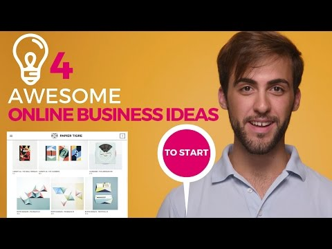 4 awesome online business ideas
