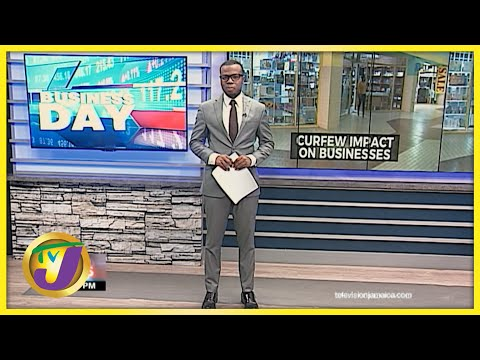 Curfew Impact on Jamaican Businesses | TVJ Business Day - August 10 2021