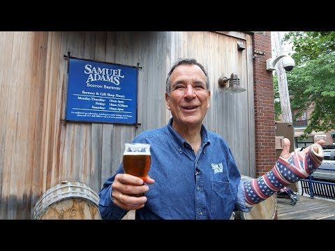 Inside the Sam Adams brewery with founder Jim Koch