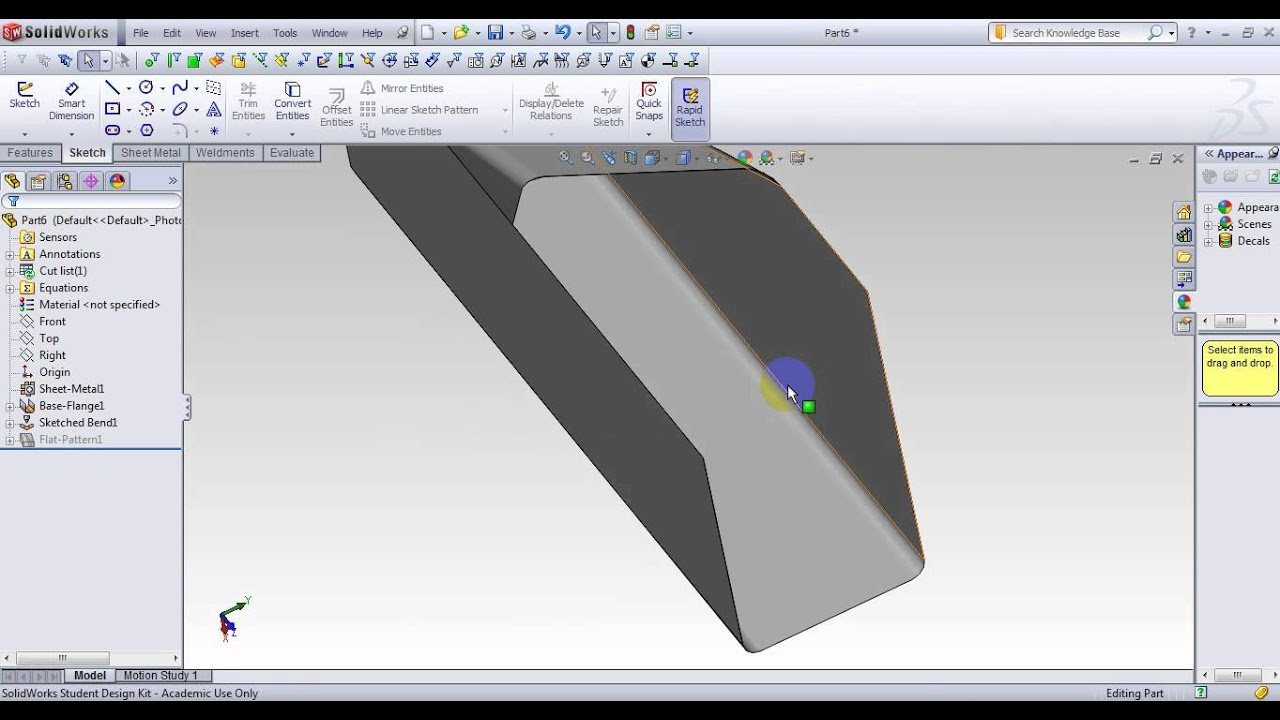 Solidworks 17 Advanced Sheet Metal And Basic Weldment