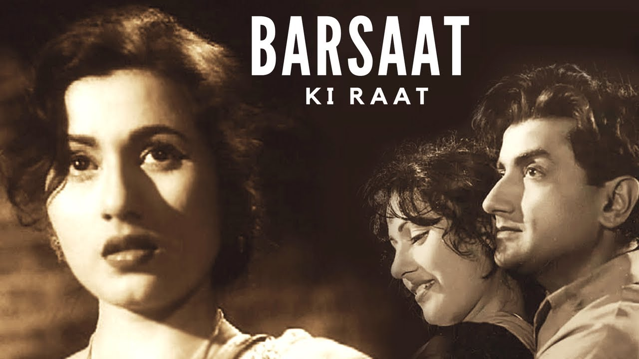 Download Barsaat Ki Raat (1960)   Full Bollywood Classic Movie   Madhubala, Bharat Bhushan, Shyama