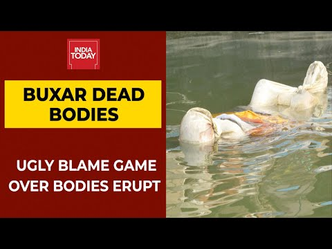 Blame Game Over Dead   Over 40 Bodies Found Floating In Ganga In Bihar's Buxar