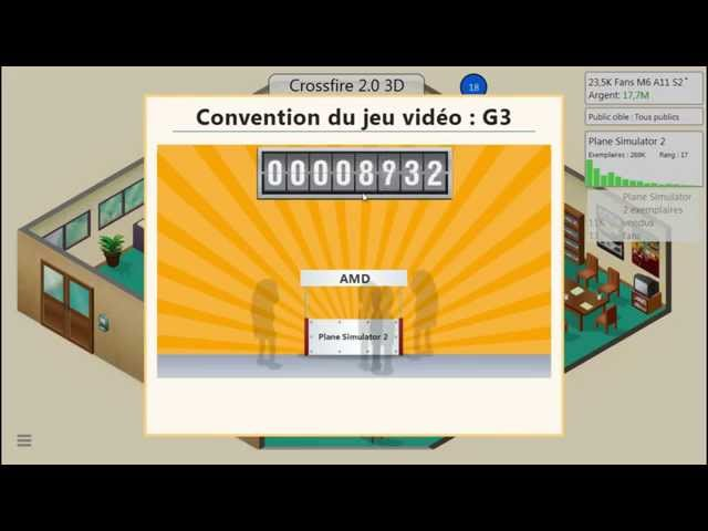 Sans Commentaire: Game Dev Tycoon Partie 6 1080P/60FPS