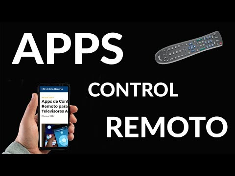 Apps de Control Remoto para Televisores Antiguos