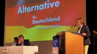 AFD Fulda, Rede Beatrix von Storch
