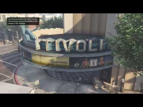 GTA V - Michael buying all 3 theaters (property) Tivoli Cine