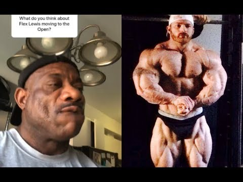 Dexter Jackson: Flex Lewis is too small for us