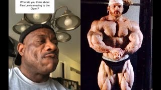 "Dexter Jackson: ""Flex Lewis is too small for us"""