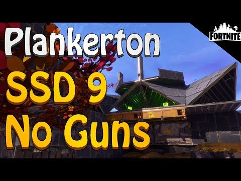 FORTNITE - Plankerton SSD 9 Without Using Weapons, Abilities Or Gadgets