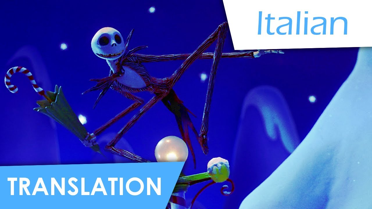 The Nightmare Before Christmas | What\'s this? (Italian) Subs + Trans ...