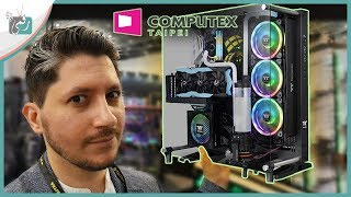 اقوى اجهزة كمبيوتر العاب 2019 وافضل كيس كمبيوتر للالعاب معرض كمبيوتكس 2019 Youtube