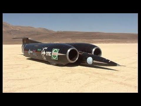Dünyanın en Hızlı Arabası Thrust SSC BRD 1,228 kmh (763 mph)
