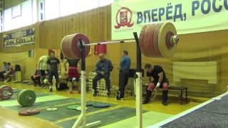 Dmitry Klokov & Vasiliy Polovnikov - SQUAT training (4.09.2013)