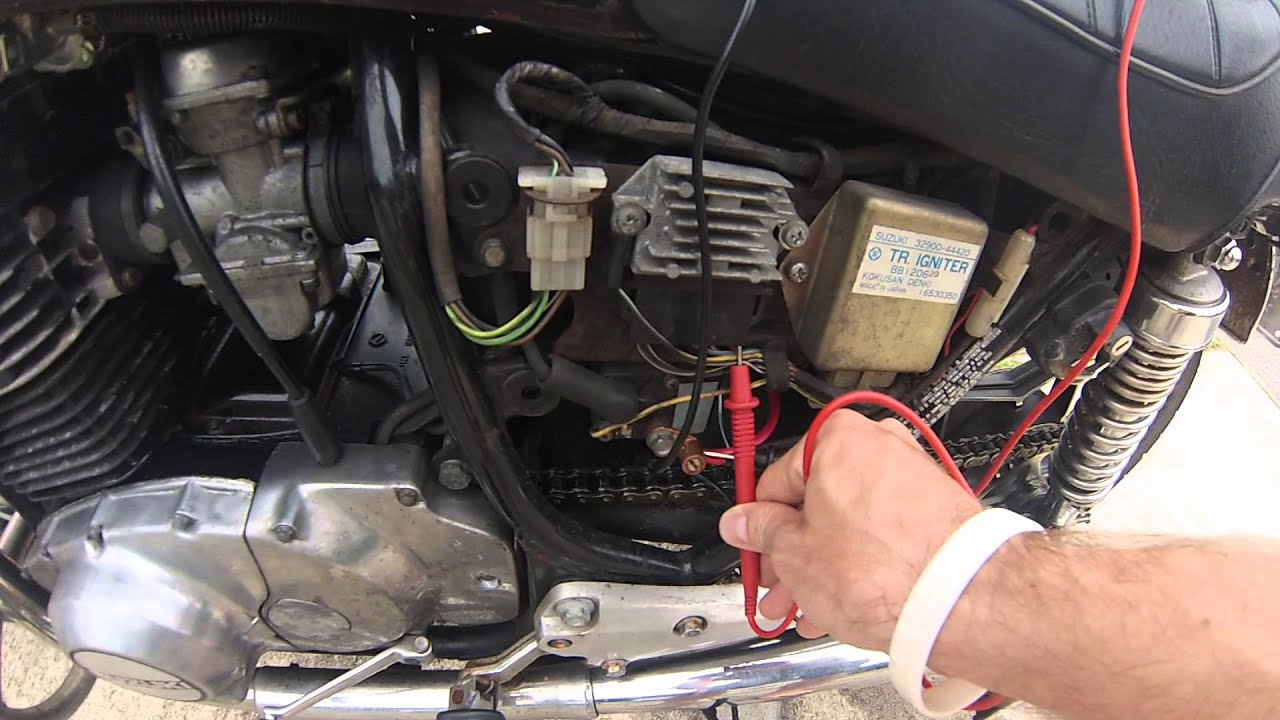 1983 Suzuki GS450L Electrical diagnostics  YouTube