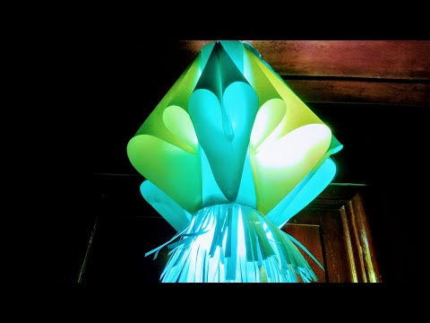 Kandil making | paper Lantern making | How to make Kandil for Diwali decoration