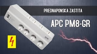 Unboxing Overvoltage Protection : APC PM8-GR