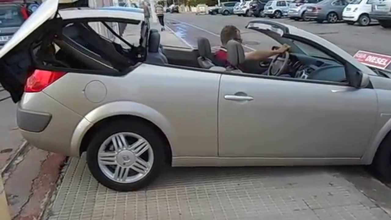 2005 renault megane 1 9dci coupe cabrio youtube. Black Bedroom Furniture Sets. Home Design Ideas