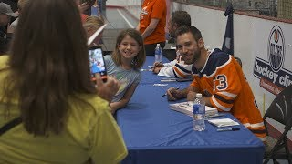 COMMUNITY | Oilers Hockey Clinic Presented by ATCO