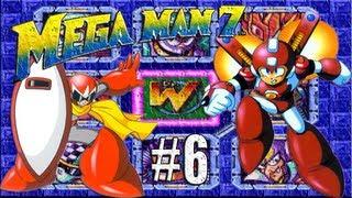 Megaman VII - ( Jugando ) - Parte 6: RUSH Adaptor, beat y protoshield!