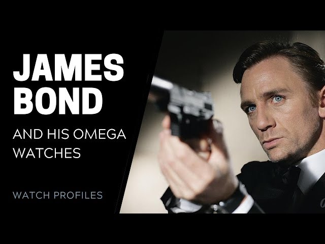 James Bond's Omega Watches | SwissWatchExpo [Watch Collection]