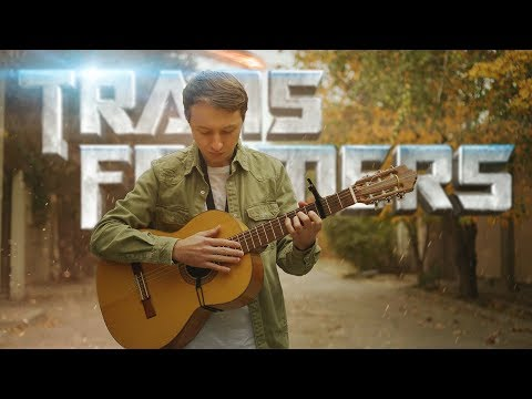 """Transformers Main Theme """"Arrival To Earth"""" (fingerstyle Classical Guitar Cover) With Tabs"""