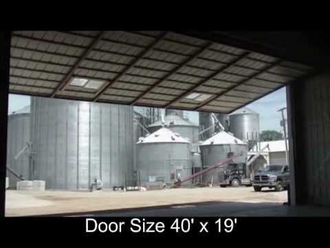 Higher Power Hydraulic Door Hydraulic Hangar Door Size