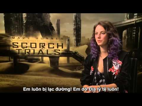 [VIETSUB] [Interview] Kaya Scodelario: The Scorch Trials