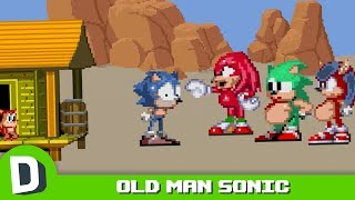 The Dark Future of Sonic the Hedgehog (Old Man Sonic Part 1)