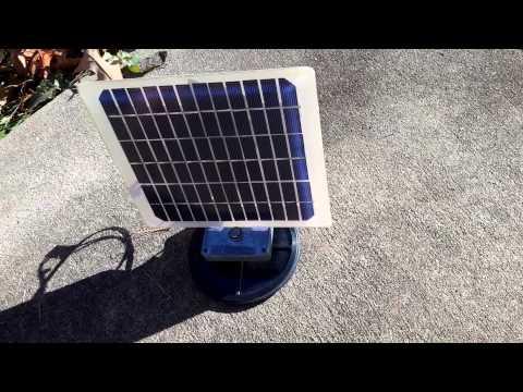 Look Away! using solar power