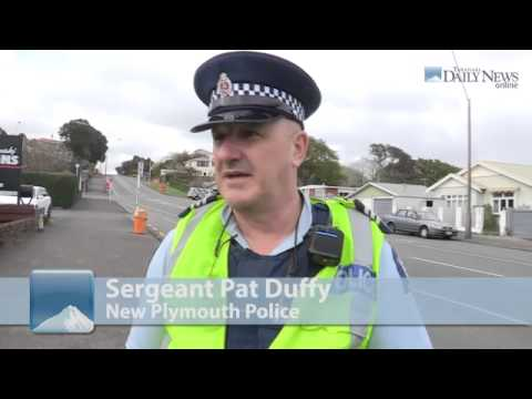Police stop   New Plymouth, New Zealand
