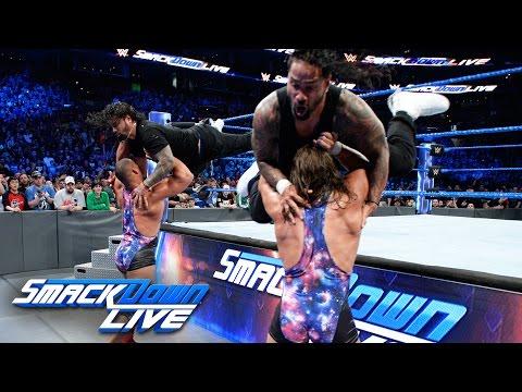 The Usos vs. American Alpha - SmackDown...