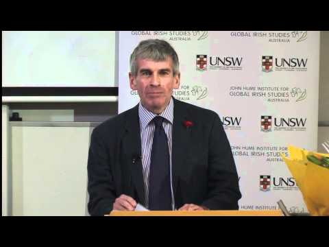 The Inaugural Patrick O'Farrell Memorial Lecture - Professor David Fitzpatrick: Australia's Irish Qu