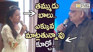 Anchor Suma Hilarious Fun with SP Balu @MAA Swearing Ceremony 2019 - Filmyfocus.com