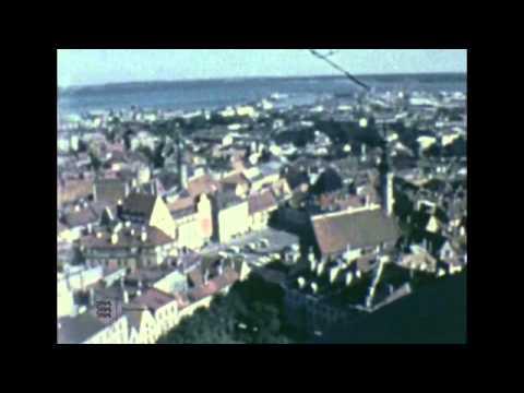 Tallinna vaated Niguliste kiriku tornist, u 1971