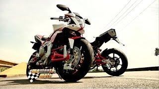 BIMOTA TESI - Uma moto italiana de puro conceito.