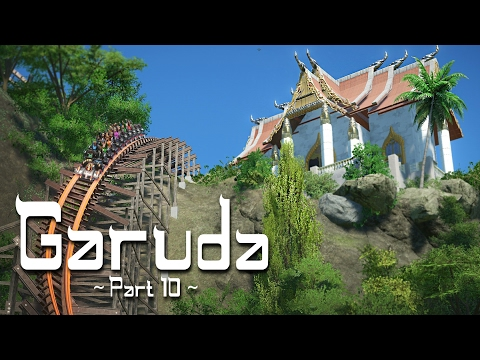 Planet Coaster - Garuda (Part 10) - Thai Hybrid Coaster: Final Detailing (ft. Silvarret)