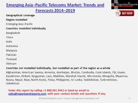 Analysis of Asia Pacific Telecoms Market to 2019