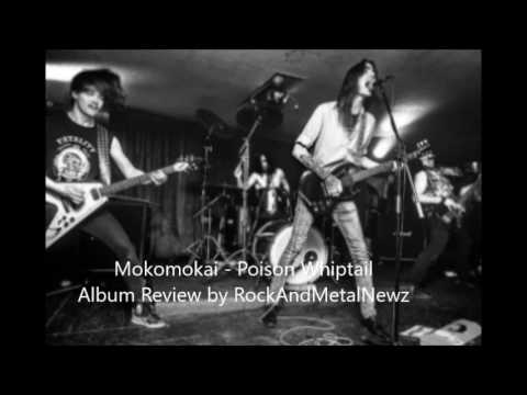"Mokomokai - Poison Whiptail album review by RockAndMetalNewz! ""pick this album up!"""