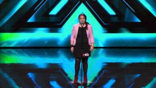 Powerful performance by the hilarious Talitha Blake - The X Factor NZ on TV3 - 2015