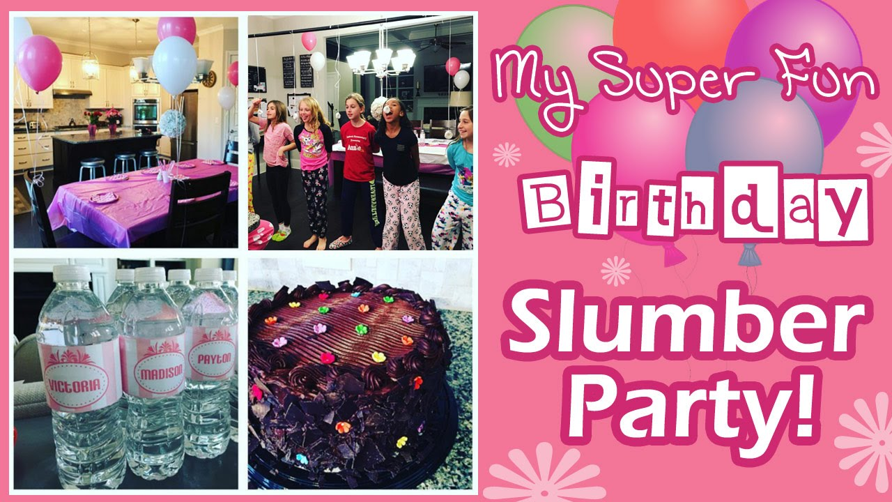 11 year old birthday party ideas How to Throw the Best 11 Year Old Tween Slumber Sleepover Birthday  11 year old birthday party ideas