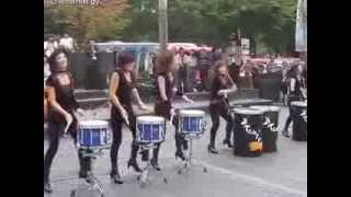 Сексуальные Корейские барабанщицы  Sexy Korean drummers