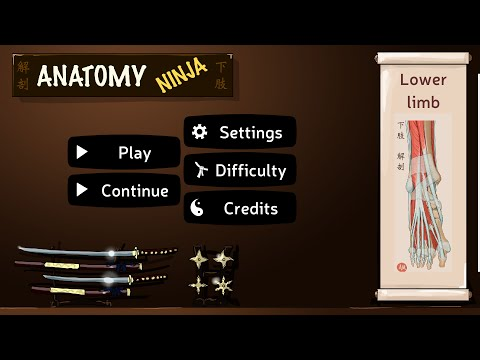 Anatomy Ninja Lower for PC Download (2020) Windows (7, 8, 10)