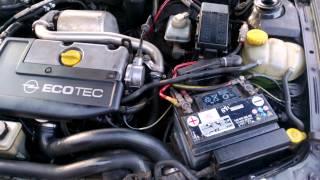 Opel Vectra 2,0 DTI variklio kalenimas esant saltam prie -12 laipsniu
