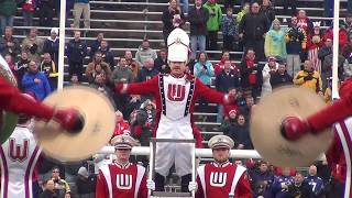 Wisconsin Marching Band Pre Game 11 18 17