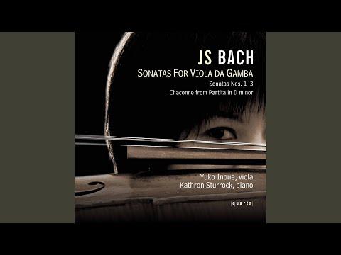 Violin Partita No. 2 in D Minor, BWV 1004: V. Chaconne (Arr. for Viola da gamba)