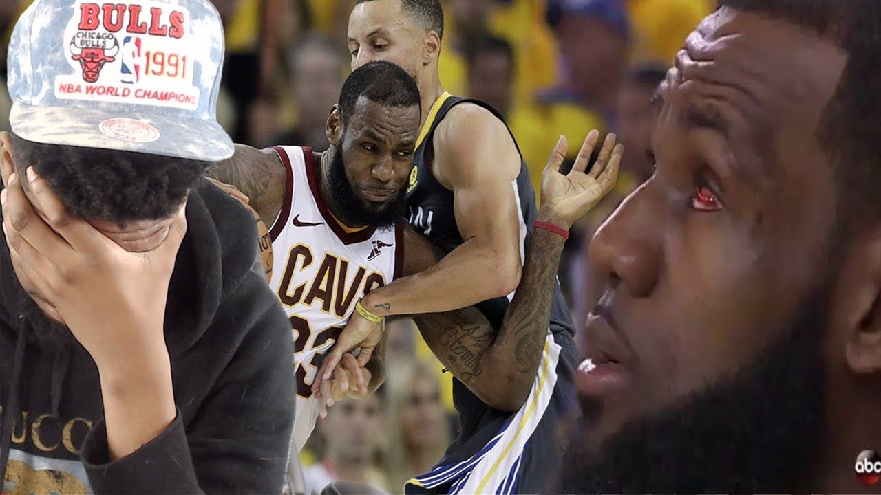 LEBRON'S PLAYING WITH ONE EYE!! CAVS vs WARRIORS GAME 2 NBA FINALS HIGHLIGHTS - YouTube