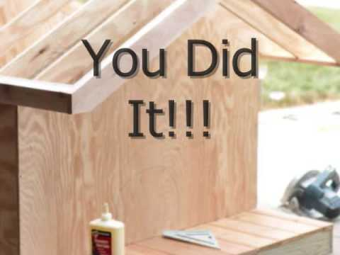 Dog House Plans for Large and Small Dogs YouTube