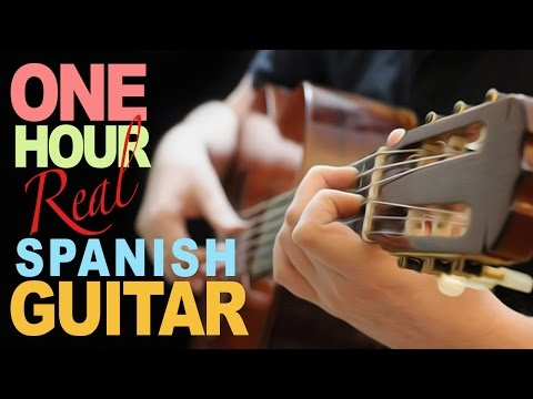 1 heure de GUITARE Best Of - 1 hour of Spanish FINGERSTYLE GUITAR