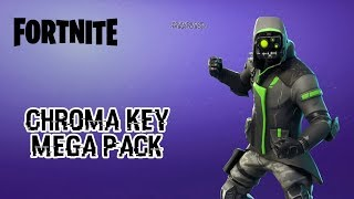 Fortnite Battle Royale - Chroma Key Mega Pack - Dances, Emotes & More (Green Screen And Blue Screen)